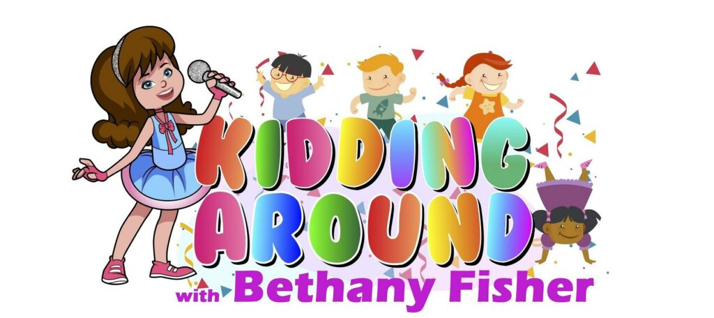 logo kidding around with bethany fisher